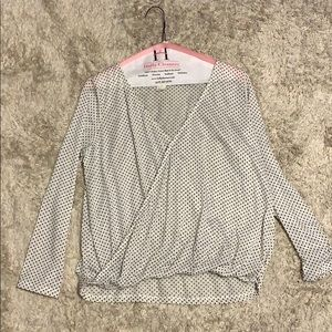 NEVER WORN H AND M BLOUSE
